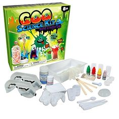 Not your average slime kit! Explore fascinating scientific concepts and skills. This Gooey Science Kit is two science ki