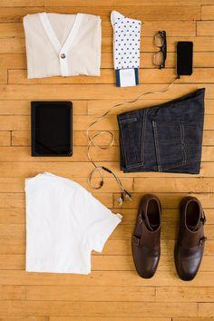 Summer in white. #socks #shoes #jeans #hookandalbert