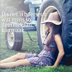 Boeremeisie by ♡: Liefde is snaaks Girl Boss Quotes, She Quotes, Cute Love Quotes, Love Yourself Quotes, Farm Quotes, Qoutes, Funny Quotes, Cowgirl Secrets, Afrikaanse Quotes