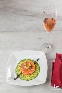 Salmon Tartare at Grand Bohemian Orlando
