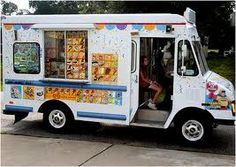 "This ice cream truck has frozen treats on it just as you can get from the store. In my childhood days, we had one that had ""real"" ice cream treats and shakes, it was called ""Mr. Softy"", those were the good ole' days."