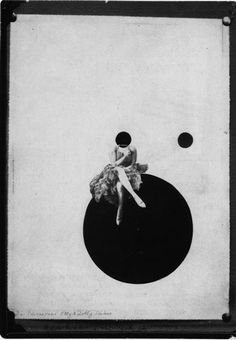 The Olly and Dolly Sisters, 1925 by Laszlo Moholy-Nagy. Dada. photo