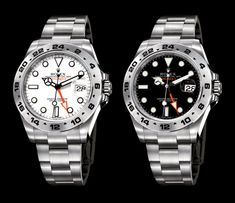 Rolex redo their famous Explorer II model Rolex Explorer II - white or black? Rolex redo their famous Explorer II model Rolex Explorer II - white or black? Rolex Submariner Gold, Rolex Gmt, Rolex Datejust, Watches Rolex, New Rolex, Wrist Watches, Rolex Explorer Ii, Rolex Oyster Perpetual, Vintage Rolex