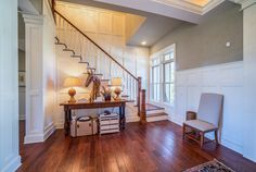 Southern Style Foyer | Grand Entry | Entryway Decor Ideas | Staircase |  Vacation Real Estate