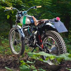 pinterest.com/fra411 #classic #trial #motorbike - 320TL trials machine from SWM