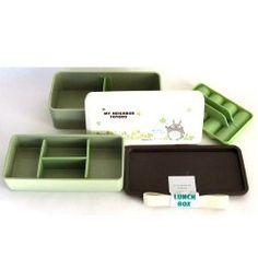 Bento: My Neighbor Totoro Japanese Style 2-tier Totoro Design Bento Lunch Box (280ml+360ml)