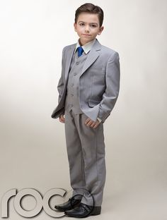 Communion+Clothes+for+Boys | Boys Holy Communion 3pc Dove Grey + Additional Blue Communion Tie ...