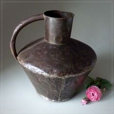 French Antique Milk Can