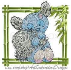 "Lemur - Machine Embroidery Dog Designs Set for a Babies and Children of a series ""Old Toy"""