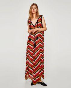 f9062ac9ed VESTIDO RAYAS MULTICOLOR. Striped CardiganStriped DressBoutique ZaraAw17Zara  WomenKnitwearWrap ...
