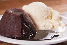 O verdadeiro petit gâteau au chocolat chaud