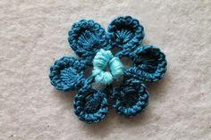 L'angelo dell'uncinetto: Fiore per Merletto d'Irlanda