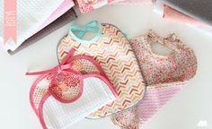 Minigougue: {DIY} Couture, bavoir pour bébé !
