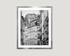 Large Black and white print Paris wall art by RivuletPhotography Fine art print — http://etsy.me/2fUrmXy #paris #wallart #photography #blackandwhite #prints #buyonline #architecture #16x20