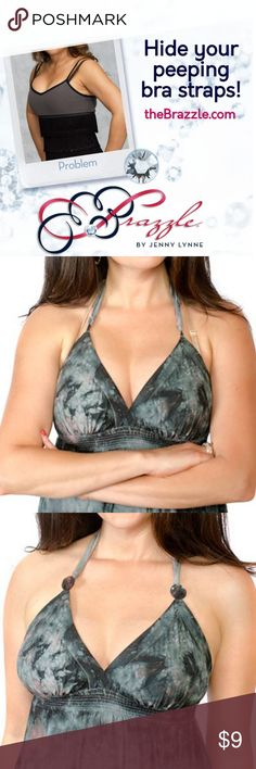 Bra Strap Aligners - NEWEST Fashion Accessory A set of Brazzles will align your bra and thin strapped garment. Accessories