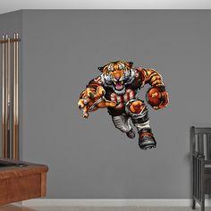 Brawling Bengal. Football BedroomBear DecorNfl Chicago ... & Chicago Bears Bear Head Logo | Football bedroom Logo real and Bear logo