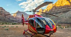 Grand Celebration Sunset Private with Vegas Strip | Papillon Grand Canyon Helicopters
