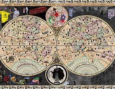 "Check out new work on my @Behance portfolio: ""Mapa mundi moderno / Modern world map"" http://be.net/gallery/37469611/Mapa-mundi-moderno-Modern-world-map"