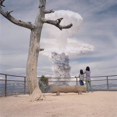 Clay Lipsky re-contextualises atomic tests in photo series Atomic Overlook atomic-overlook.com