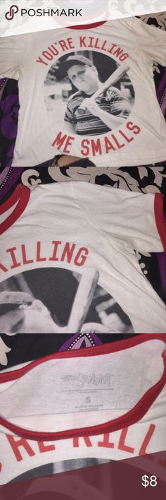 Tee The Sandlot baseball slightly cropped shirt in good condition only worn once. Rue21 Tops Tees - Short Sleeve