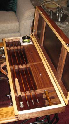 wood fly rod case | Leslie's Fly Rod Case