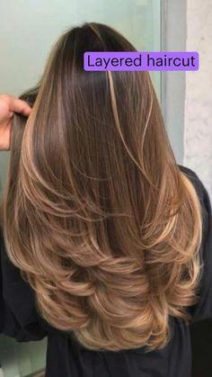 Haircuts For Long Hair, Long Hair Cuts, Long Layered Haircuts, Hair Color And Cut, Cut My Hair, Medium Hair Styles, Long Hair Styles, Brown Hair Balayage, Aesthetic Hair