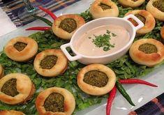 LEBANESE RECIPES: Fatayer Falafel (Falafel pastries) recipe