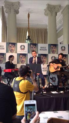 Marco Mengoni - No Me Detendré (Pronto A Correre) Live  SECONDO VIDEO DA MADRID :) :) :)
