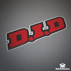 Pegatina Logo D.I.D color #did #pegatina #adhesivo #tuning #moto #TeleAdhesivo