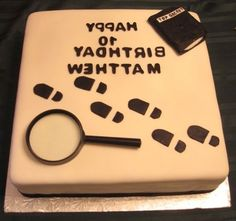 spy cake... seems simple enough. Famous last words eh!