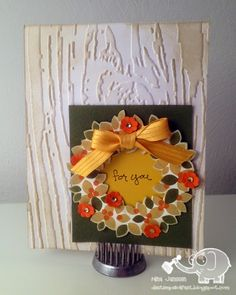 Stampin Up Thanksgiving Fall Card Ideas On Pinterest