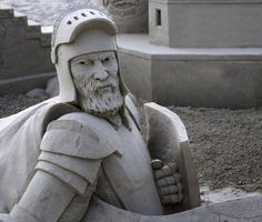 Sand Sculpture competition at Hampton Beach, NH today