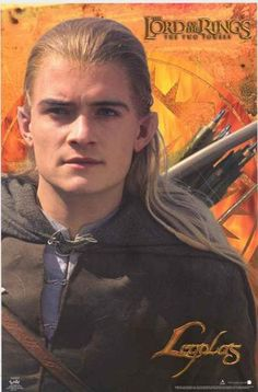 Lord of the Rings Legolas Movie Poster 22x34 – BananaRoad