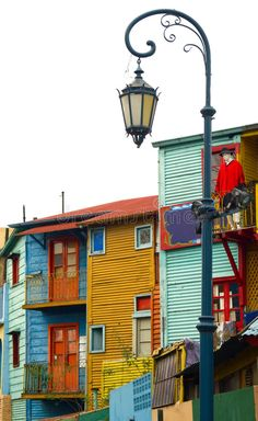 Photo about Corrugated homes in La Boca - Buenos Aires. Image of travel, tango, caminito - 1331567 Places To Travel, Places To Go, Foto Picture, Naive Art, House Colors, South America, Around The Worlds, Street, Motorhome