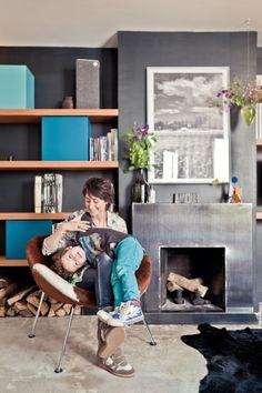 L'Atelier d'Archi. Un pequeño apartamento parisino de estilo ecléctico | Noveno Ce
