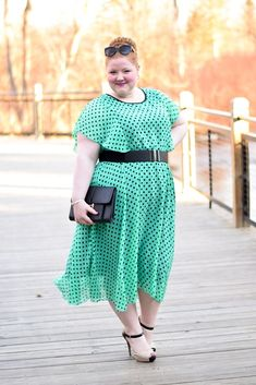 Introducing Plus Size Dress Destination: Sydney's Closet! I style and review their retro-inspired Get Spotted Dress with a modern edge for spring! #sydneyscloset #plussizeformalwear #plussizepromdress #plussizefashion Plus Size Prom Dresses, Plus Size Outfits, Skirt Fashion, Hijab Fashion, Women's Fashion, Big Girl Fashion, Retro Dress, Passion For Fashion, Plus Size Fashion