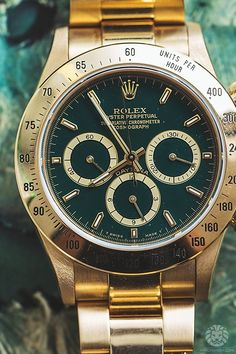 Rolex Rolex Daytona Gold, Amazing Watches, Cool Watches, Beautiful Watches,  Luxury 73b515f60f85