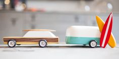 These wooden toy cars are a Kickstarter hit
