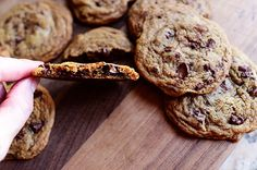 Pioneer Woman: Chocolate Chunk Cookies.