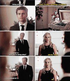 """#TVD 6x15 """"Let Her Go"""" - Stefan and Caroline"""