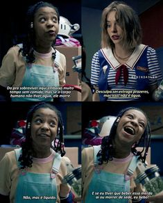 Stranger Things Funny, Stranger Things Netflix, Pretty Litte Liars, Tv Shows, Erica, Blackpink Lisa, Movies, Funny Memes About Love, Funny Movie Quotes