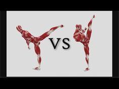 Side Kick Tutorial Anatomy Muscle Flexibility Strength Diagram Good vs Bad - YouTube