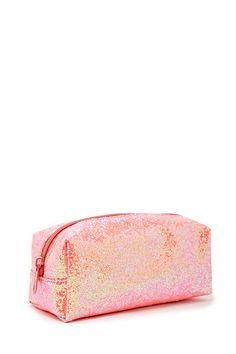 J2017  Iridescent Glitter Makeup Bag