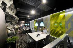 Google Office Interior Design in Zurich, Switzerland
