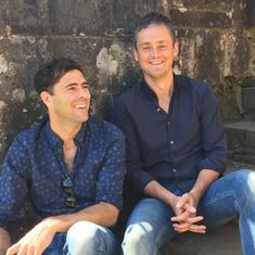 Tim Rice-Oxley and Tom Chaplin with Battle Festival ...