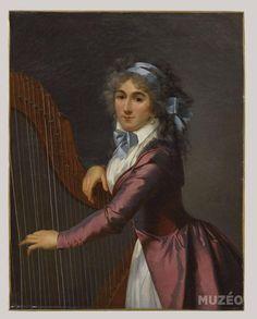 Muzéo, Edition d'art et de photo | Portrait d'une jeune harpiste de Romany Adèle, née de Romance © RMN /Stéphane Maréchalle