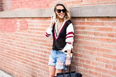 Styled sweater