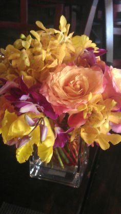 Roses, orchids, and tulips...