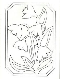 Květiny Kirigami, Paper Cutting Patterns, Scroll Saw Patterns, Stained Glass Patterns, Pop Up Cards, Stencil Designs, Origami Paper, Easter Crafts, Art Lessons