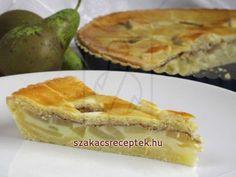Körtés-pudingos kalács • Recept | szakacsreceptek.hu German Bakery, Apple Pie, Baking, Food, Basket, Pie, Yummy Cakes, Cooking, Simple
